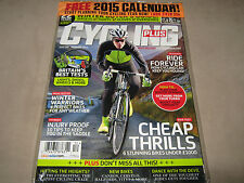 CYCLING PLUS UK December 2014 Bike Training Free 2015 CALENDAR Best Big Rides SS