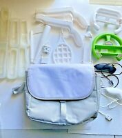 Nintendo Wii Accessories And Carrying Case Sports 2 Motion Sensor Adapters Etc