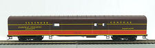HO 72 Ft Pass. Full Baggage Car ,RTR Illinois Central (1-1020F)