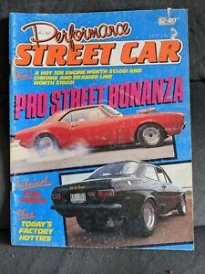 PERFORMANCE STREET CAR MAGAZINE , JUN / JULY 1986