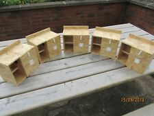 5 X LOVEBIRD NEST BOXES WITH PORCH/CRECHE FOR BREEDING - AVIARY CAGE LOVE BIRD