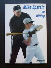 Mike Epstein on Hitting by Mike Epstein 1585187771 Washington Senators MLB