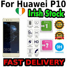 Huawei P10 Glass Screen Protector Tempered 2D Case Friendly Quality IRISH STOCK