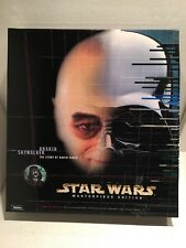 STAR WARS: Anakin Skywalker Masterpiece Edition 12 Inch Figure and Book set new