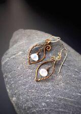 HANDMADE! Moonstone Gemstone Earrings 10088