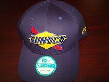 SUNOCO RACING BLUE OIL CARS   NICE SURF SKATE NEW RETRO SCRIPT HAT CAP SNAPBACK