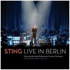 Sting - Live In Berlin NEW CD / DVD