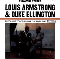 LOUIS ARMSTRONG & DUKE ELLINGTON - TOGETHER FOR THE FIRST TIME   VINYL LP NEW!