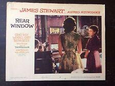 Rear Window '54 Alfred Hitchcock James Stewart Grace Kelly Film Noir Lobby Card