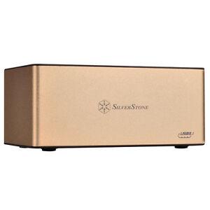 Silverstone SST-TS11G-C 3.5/2.5in SATA SSD/HDD USB3.1 Gen2 10Gbs Docking Station