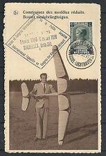 Belgium covers 1938  PPC des modeles réduits/modelvliegtuigen