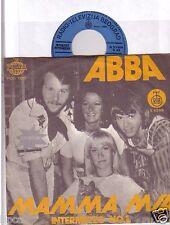 "MINT 7"" YUGOSLAVIA ABBA MAMA MIA BLUE LABEL RADIO-TELEVIZIJA-BEOGRAD S 53918"