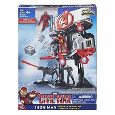 Avengers Iron Man o Capitan America Arsenale Miniverse playset Hasbro