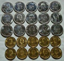Lot 25 alte Fußball Fußballer Token Münzen
