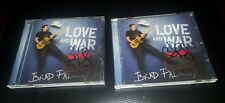 Love and War by Brad Paisley CD Apr 2017 Arista NEW AUTOGRAPHED SIGNED