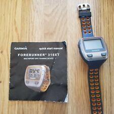 Great Condition! Garmin Forerunner 310XT Watch - Gray/Orange, Triathlete