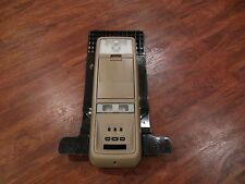 2003-2011 OEM MERCURY GRAND MARQUIS CROWN VIC OVERHEAD CONSOLE TAN WITH DISPLAY