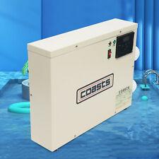 11KW 220V Digital Swimming Pool & SPA Electric Water Heater Thermostat Hot Tub