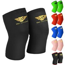Knee Leg Support Elastic Sleeve for Joint Pain Sprain Injury Sports Running Gym