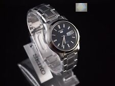 Gift + SNK793 Stainless Steel Band Automatic Men's Blue Watch SNK793K1  SEIKO 5
