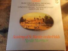 "HANDEL  "" MUSIC FOR THE ROYAL FIREWORKS""    LP"