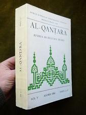 AL-QANTARA Revista de estudios Arabes Vol. 5 Fasc. 1-2