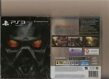 KILLZONE 3 COLLECTORS STEELBOOK PLAYSTATION 3 PS3 RATED 18