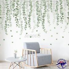 Removable Green Leaves Wall Stickers Nursery Decal Home Decor Art Mural DIY Gift