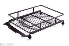 Jazrider Steel Luggage Tray Roof Rack (131x102mm) For 1/10 Rc Truck Tamiya Axial