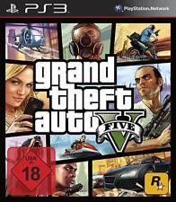 PS3 Spiel Grand Theft Auto V GTA 5 UNCUT NEUWARE