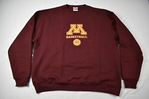 Minnesota Golden Gophers Champion Sweatshirt Men's Maroon Cotton Used XL