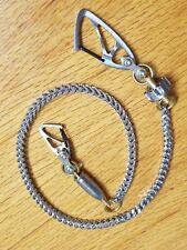 "Biker Wallet Chain, 26-1/4"" Titaner Titanium Carabiners Revolver Mag Clip/Bullet"