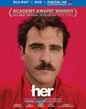 Her (Blu-ray/DVD, 2014 Academy Award Winner