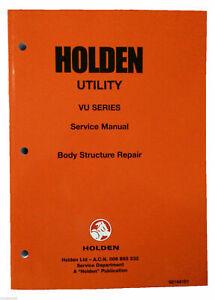 NOS HSV VU VX Maloo R8 & Holden VU SS Utility / Ute Body Structure Repair Manual