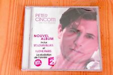 Peter Cincotti - On The Moon Love Paris ... 12 titres - CD Neuf New Sealed