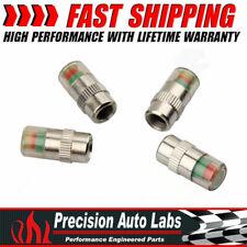 4x 36PSI TPMS Tire Pressure Monitor Valve Stem Caps Eye Alert Sensor Indicator