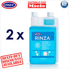 2 x Urnex Milk Line Spout Frother Cleaner 1.1L for Miele Espresso Machine