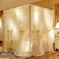 double layers netting mosquito net bed canopy romantic room decoration curtain