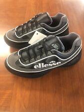 Ellesse SS20 Sparta Size 9 Men's Black/Grey Leather Upper.