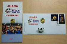 2011 Malaysia AFF Suzuki Cup 2010 Football Champion 2v Stamp FDC (KL Cachet)