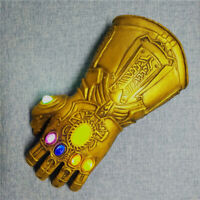 Thanos Infinity War Gauntlet LED Light Glove 4 Halloween Marvel Avengers Cosplay