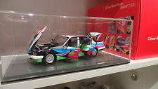 Minichamps 1:18 Art Car Cesar Manrique BMW 730i E32 OVP ohne Mängel