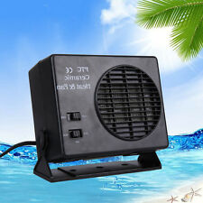 12V Volt Ceramic Car Auto Van Fan Heater Warmer Window Defroster Demister