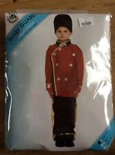 busby guard fancy dress costume NEW size 4-6 years army, soldier