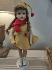 ANTIQUE  ARRANBEE R&B 18 IN COMPOSITION ROLLER SKATER DOLL