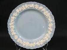 "Wedgewood~Etruria&Barlaston~Shell Edge~Cream on Lavender Blue~Dinner Plate~10"""