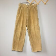 Vintage 90s AE Supply Co. Tan Cargo Corduroy Pants Mens Size 32x30
