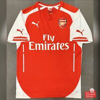 Authentic Puma Arsenal 2014/15 Home Jersey. Size S, Excellent Condition.