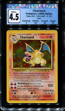 Charizard - Italian - 4/102 - CGC 4.5 VG/Ex+ - Base Set Unlimited - Holo - 65092