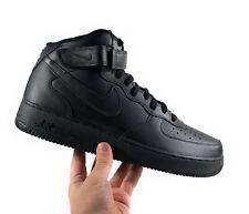 Nike Air Force 1 Mid '07 'Triple Black' Men's Lifestyle Shoes Size 12 315123-001